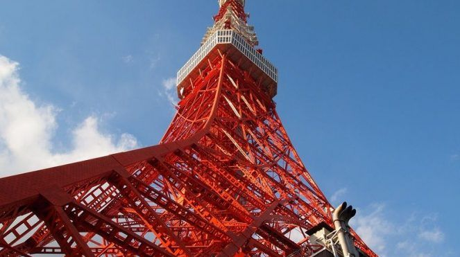 Image of Tall of Tokyo Tower Facts for Kids Pictures