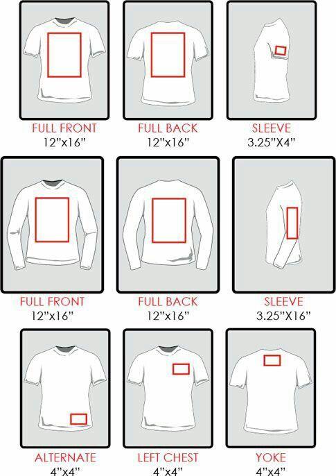 HTV Sizing For Shirts. How Big Do I Make My Image?