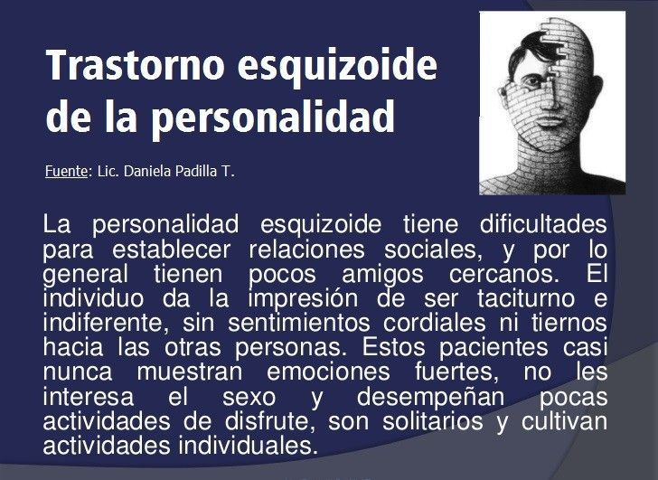 El Trastorno Esquizoide de la Personalidad se incluye en el grupo A de los trastornos de personalidad. Se caracteriza por aislamiento y dificultades sociales.