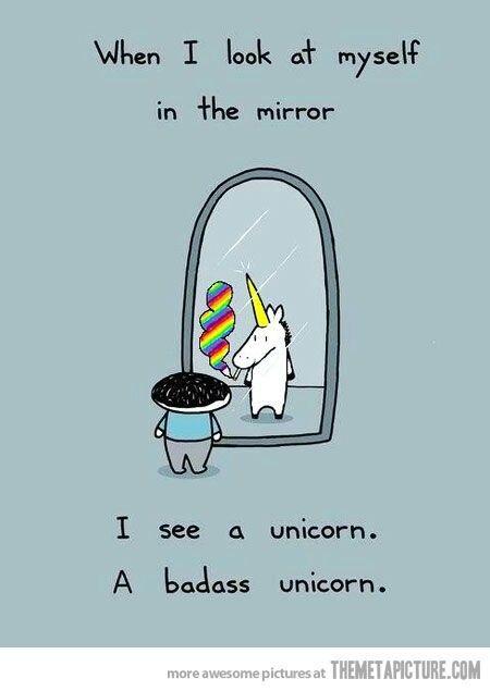 A Badass unicorn..