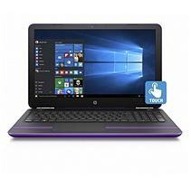 HP Pavilion Notebook 15-aw068nr, Sport purple and ash silver
