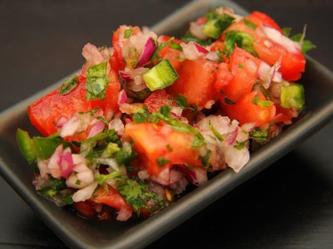 Friss paradicsomos salsa recept
