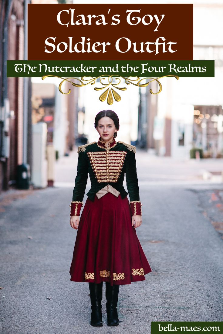 Clara s Toy Soldier Outfit - The Nutcracker and the Four Realms 2018 - Part  1  The Skirt 9a6587d32bc8