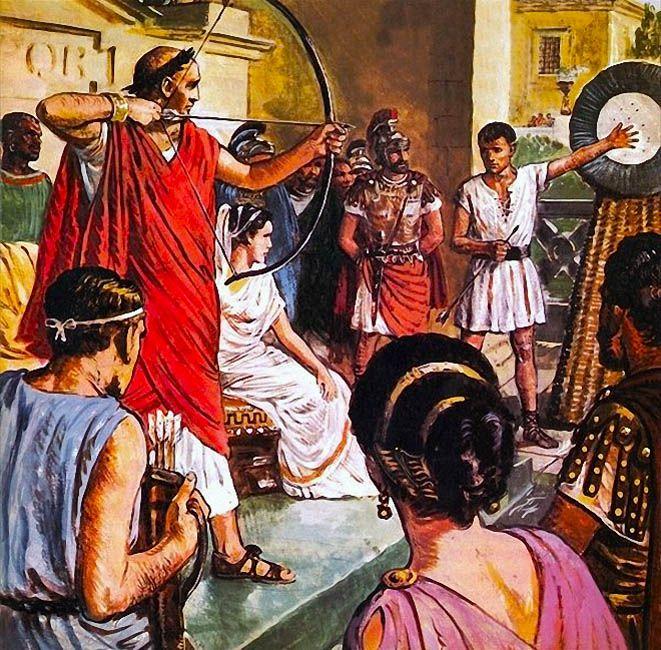 """La Pintura y la Guerra """"Domitian, the Emperor who liked to play games"""" Clive Uptton"""