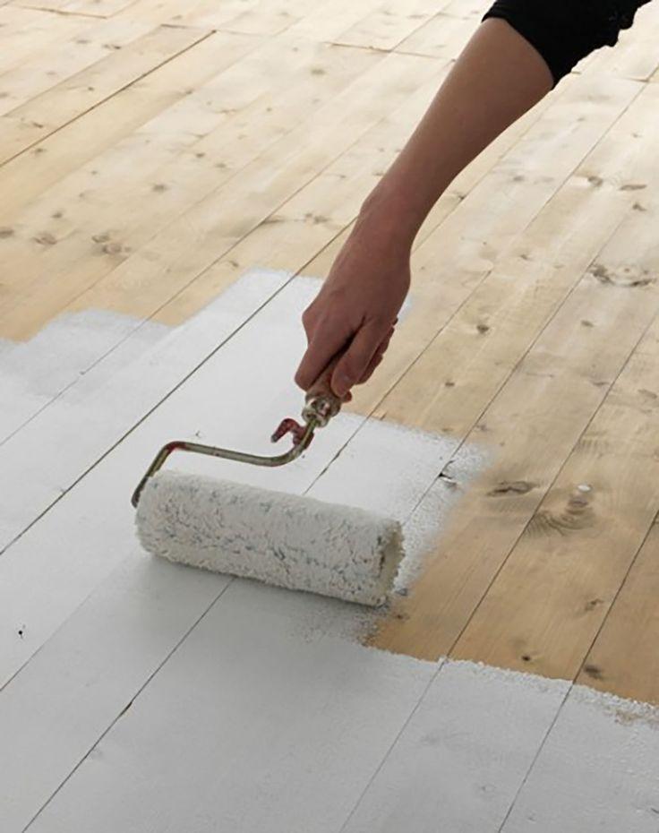 Les 25 meilleures id es de la cat gorie salle de bains avec parquet sur pinterest carrelage en for Peut on peindre sur un escalier vitrifie