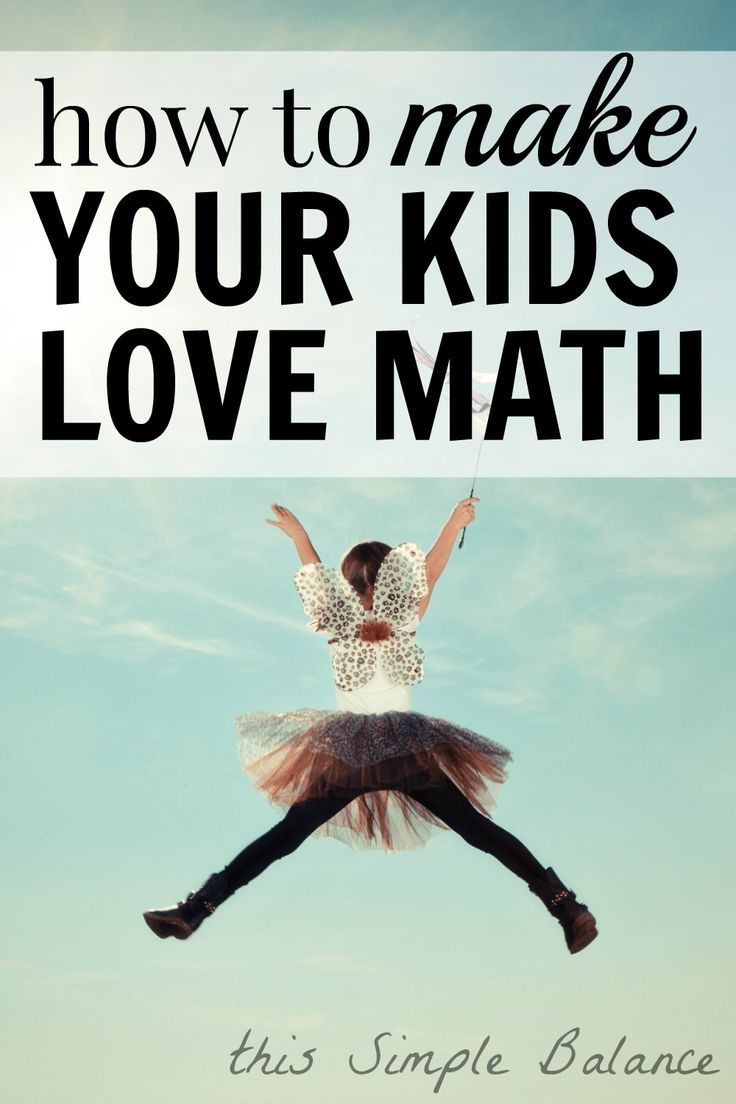 Whether you homeschool or not, every parent wants to know how to make your kids love math. Learn several easy ways to make math a natural and fun part of your life. Great for unschoolers and relaxed homeschoolers.