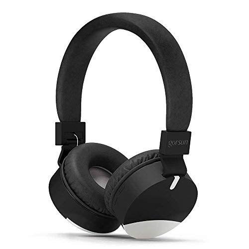 Rosa Gorsun Premium Kinderkopfhörer Rosa Faltbare Kopfhörer für Kinder