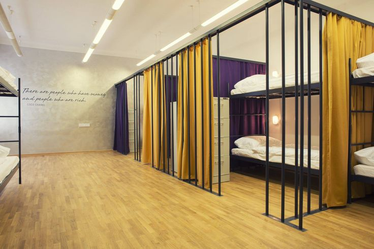Design hostel tresor ljubljana slovenia hostel design for Hostel room interior design ideas