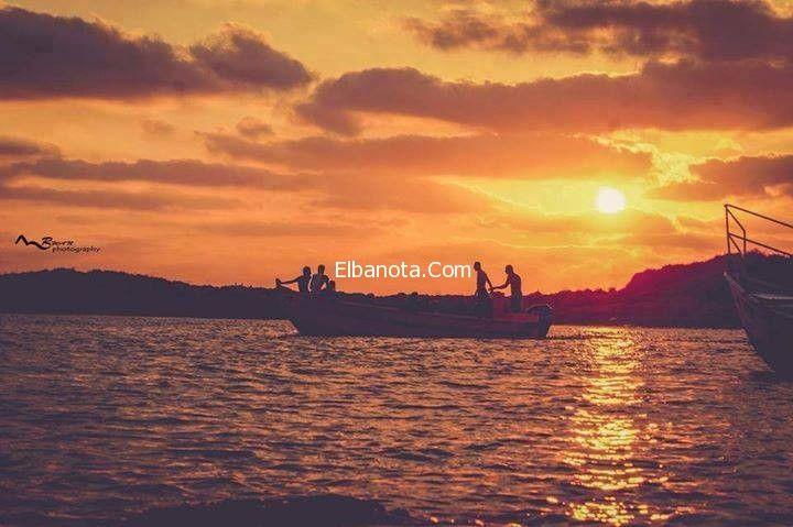 اجمل مناظر غروب الشمس على شاطئ البحر بالصور Sunset Celestial Outdoor