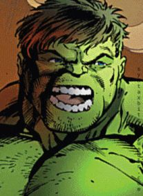 The Hulk/Bruce Banner, comic to movie. Mark Ruffalo was hands down the best Banner/Hulk ever.