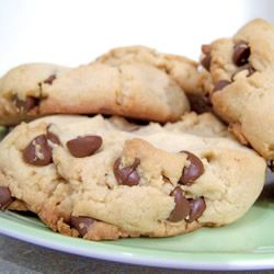 Best Big, Fat, Chewy Chocolate Chip Cookies. :DCookies Bar, Cake Cookies, Cookies 3, Chips Cookies, Cookies Recipe, Cookies Yummy, Chocolate Chip Cookies, Cookie Recipes