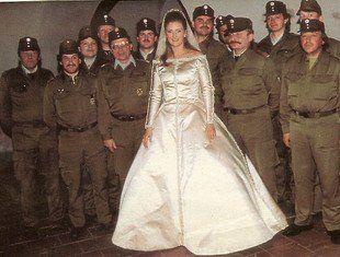 Wedding Dress Baroness Francesca Thyssen Bornemisza