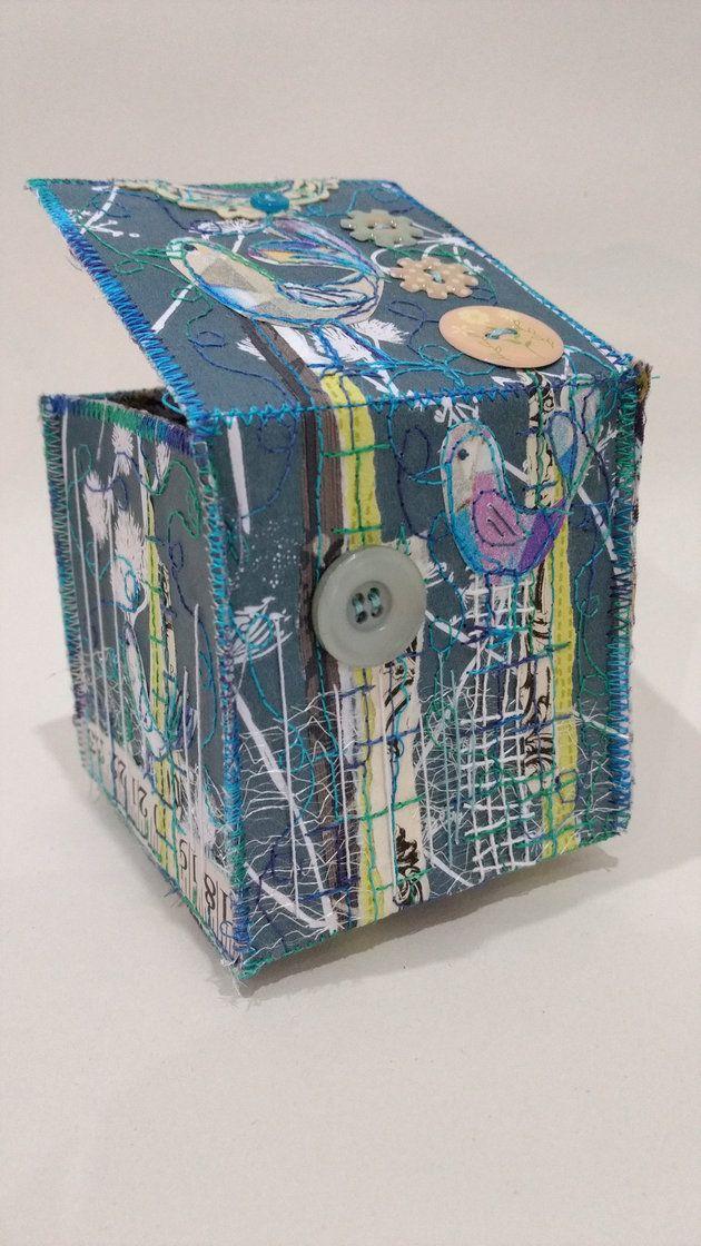 Collage Box workshop a way to brighten up a grey Saturday | annebrooke