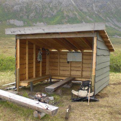 Ny gapahuk til nerdammen | Skipsfjord utmarkslag