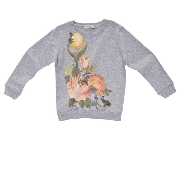 J - Stella Mccartney Kids - BILLY FLORAL SWEATSHIRT - Shop at the official Online Store