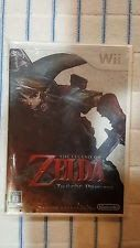 The Legend of Zelda Twilight Princess Japan Wii NEW SEALED