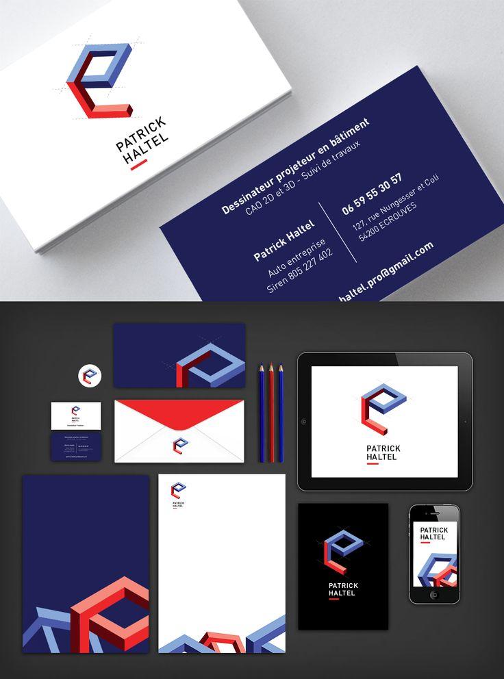 Création d'identité Visuelle : Logo - Cartes de visite - Déclinaisons Visual Identity Creation  : Logo - Print