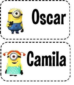 Do you need to label lockers or other areas around the room? These may be what you are searching for! We have lockers at our school that very nicely fit a 3x5 inch index card.So, I created these Minion Locker Tags for my students. The tags are editable and there is a boy and girl template.I used the Las Vegas Jackpot Font (Here: http://www.fontsplace.com/lasvegas-jackpot-free-font-download.html), but you can change it to whatever font you want to.Simply edit and then print on a 3x5 inch…