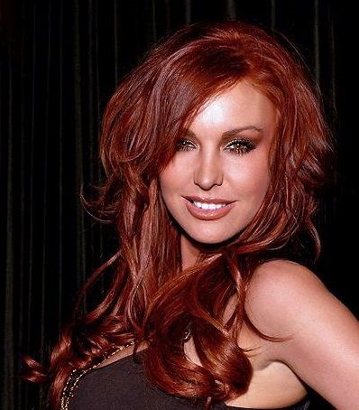 Pictures of Dark Red Hair Color. A dark red shade that suits cool skin tones.