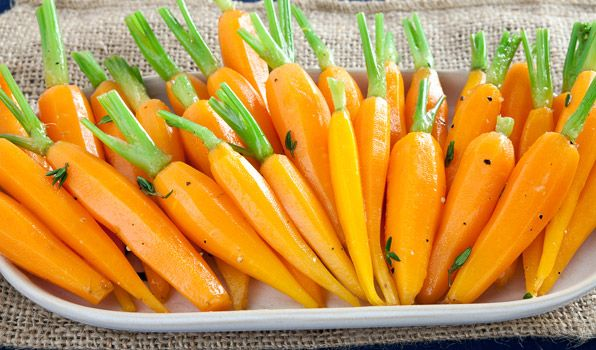 Honey-Glazed Baby Carrots