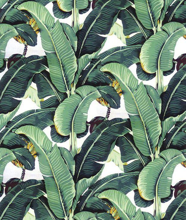 Jungle print.