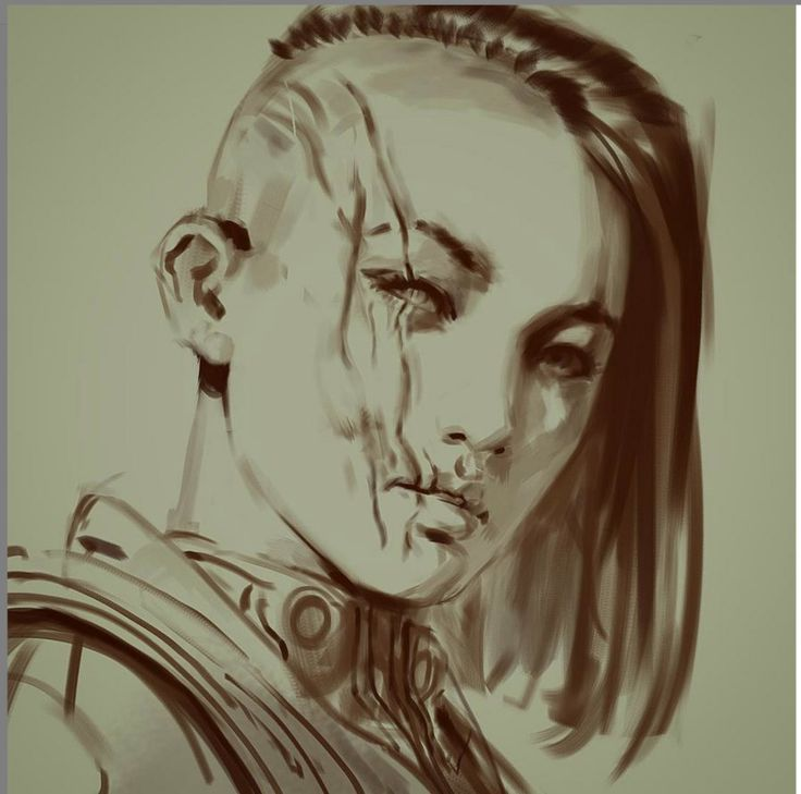 character sketch by dustsplat on DeviantArt