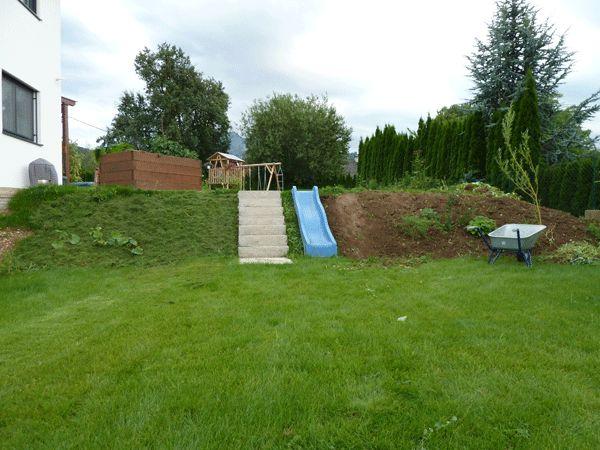 Böschung im Garten gestalten - Seite 1 - Gartengestaltung - Mein - gemusegarten am hang anlegen