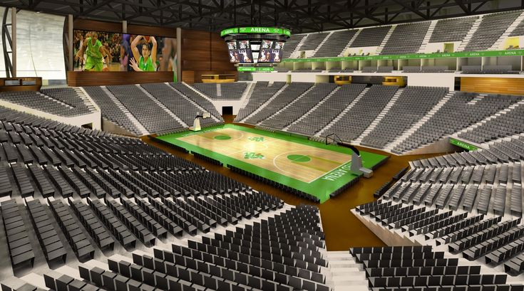 Villeurbanne-Lyon Arena / Gensler