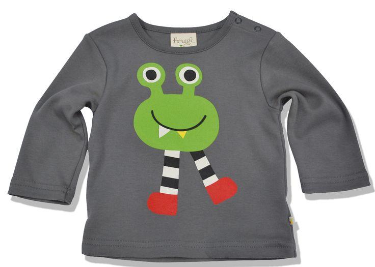 Θέλουμε τα παιδιά να είναι παιδιά, έτσι αυτό το φιλικό μπλουζάκι με το σχέδιο τέρατακι θα είναι ένα αγαπημένο κομμάτι της γκαρνταρόμπας του! Με κουμπάκια στον ώμο ώστε να μπαίνει άνετα, από τέλειο 100% οργανικό βαμβάκι, πλένεται εξαίσια και είναι ένα ευκολοφόρετο ρουχαλάκι! ΘΑ ΜΠΕΙ ΣΤΟ ΠΛΥΣΙΜ ...