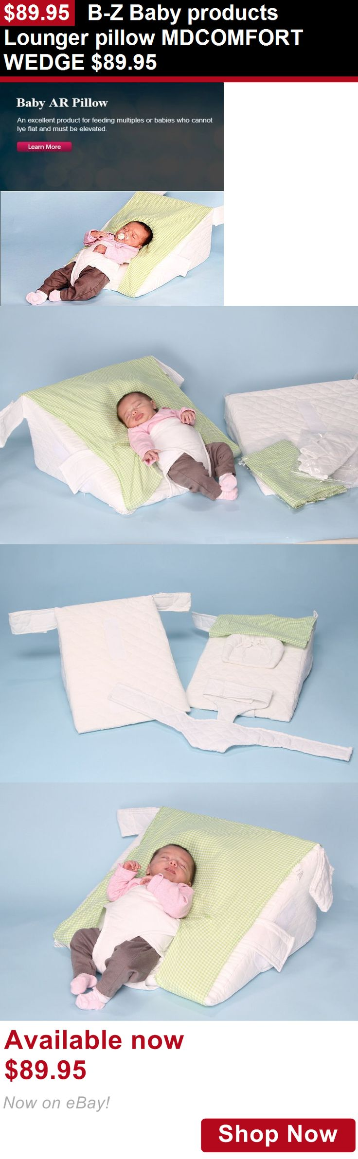 Baby Safety Sleep Positioners: B-Z Baby Products Lounger Pillow Mdcomfort Wedge $89.95 BUY IT NOW ONLY: $89.95