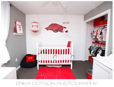 razorback baby room