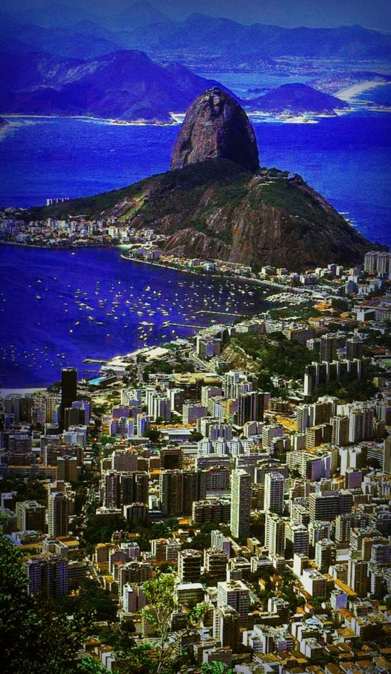 Rio de Janeiro... Mom, Dad and I got mugged here, but is still one of the most beautiful places in the world.