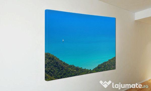 Tablou Canvas Barca pe mare ST8 (50)- 300 ron