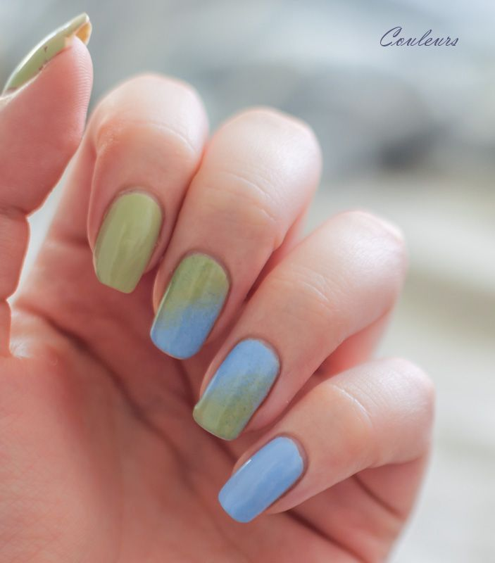 Essie Bikini So Teeny + Navigate Her gradient