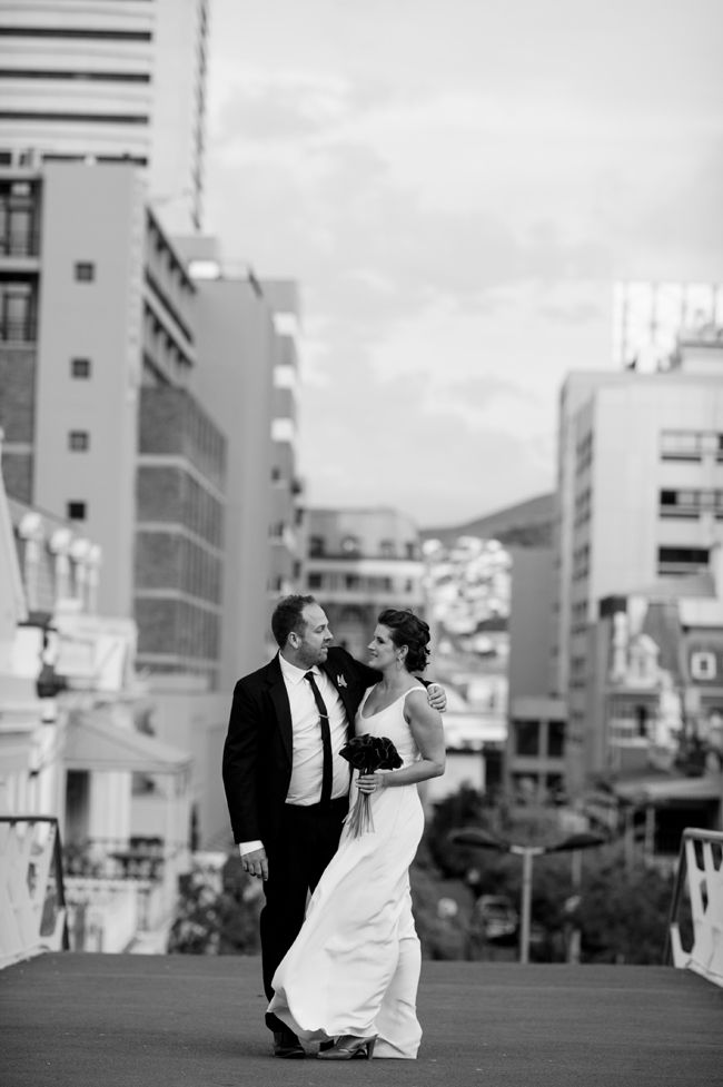 Graphic Inner City Wedding by Jules Morgan | SouthBound Bride