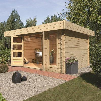17 meilleures id es propos de abri jardin toit plat sur for Cabanon de jardin en bois pas cher