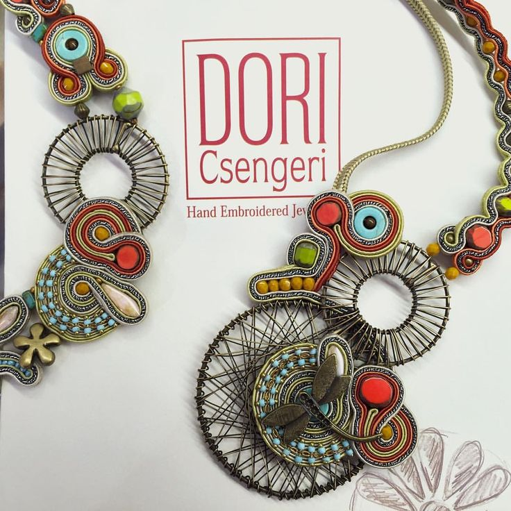 Voyage by Dori #DoriCsengeri #necklace #jewelry #design #voyage #fun #handmade #happy #oneofakind #unique #turquoise #fashion #accessories
