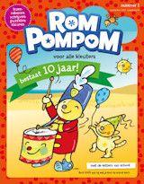 Proefabonnement: 3x Rompompom € 7,50: Speel en leer samen met je kind en Rompompom, het leukste blad voor kleuters.