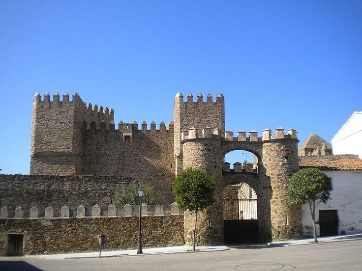Castillo de Monroy Extremadura