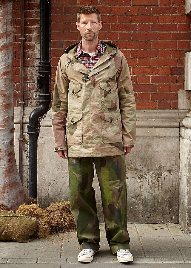 Nigel Cabourn - Spring Summer 2017 London Menswear Fashion Week Copyright Catwalking.com 'One Time Only' Publication Editorial Use Only
