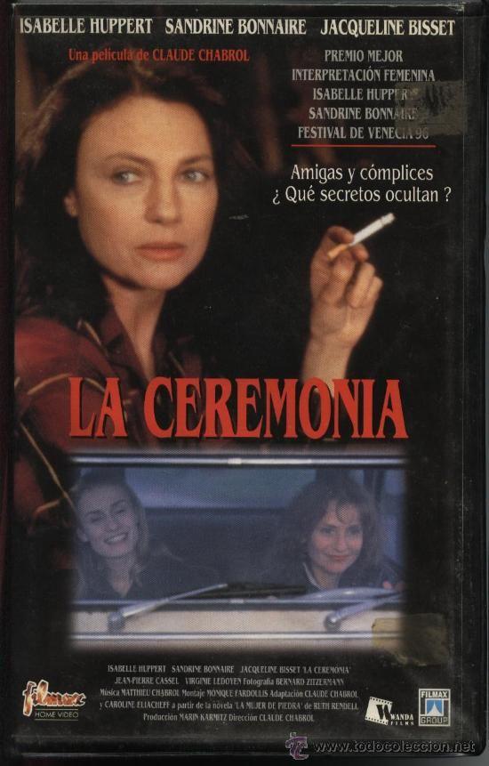 PELÍCULA VÍDEO VHS LA CEREMONIA: CLAUDE CHABROL, JACQUELINE BISSET (CINE INTRIGA)