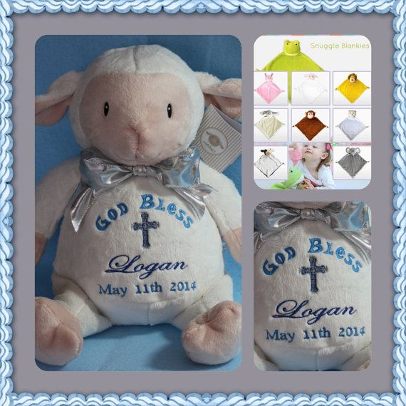 Check out this item in my Etsy shop https://www.etsy.com/listing/266199493/personalized-lamb-cubbie-baby-cubbies