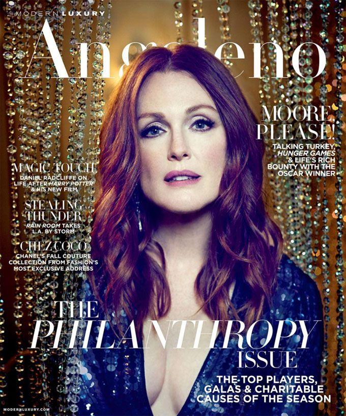 Джулианна Мур в Modern Luxury's Angeleno Magazine (Интернет-журнал ETODAY)