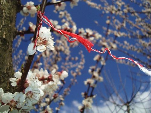 "Every spring on March 1, Romanians celebrate ""Martisor"" – a spring holiday through which they celebrate the rebirth of life after the hard winter. On this day, men offer to their beloved women flowers and martisors (the symbol of serenity and happiness)."