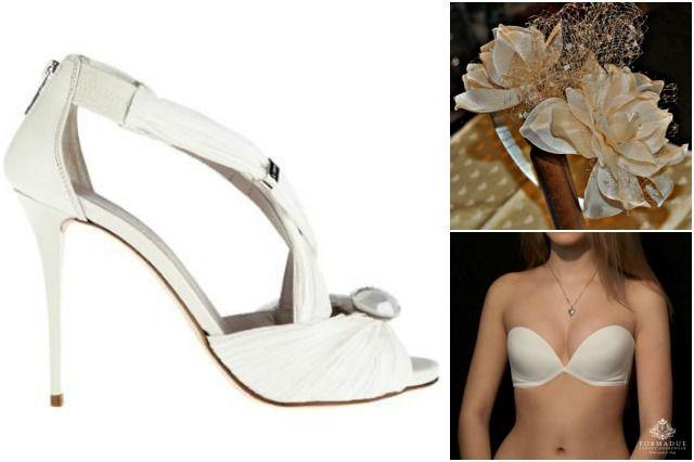 Scarpe, capelli, intimo, clutch, cintura: ricicla i tuoi accessori da sposa, e falli rivivere dello stesso fulgore mille altre volte!
