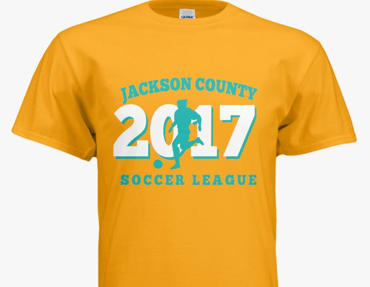 Top 25 ideas about soccer t shirt idea 39 s on pinterest for Single order custom t shirts