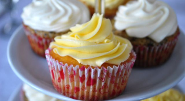 Sitron cupcakes