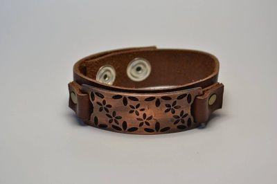 Copper Flowers #bracelet #fashion #studswagon