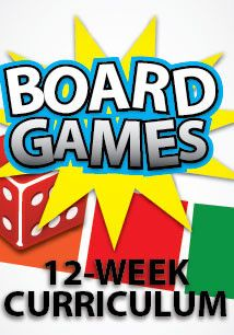 12-Week Children's Ministry Curriculum based on Board Games for kids.