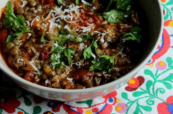 moja turecká kuchyňa: Hrejivá šošovicová